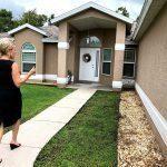Lora Keller of RE Appraisals Appraising an Estate Home